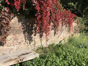 Landgoed in herfstkleuren