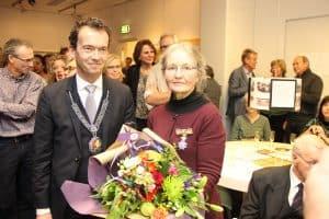 Onderscheiding Joyce van Katwijk